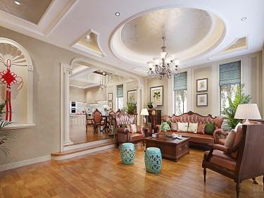 500m²美式别墅,雍容华贵、典雅奢华!