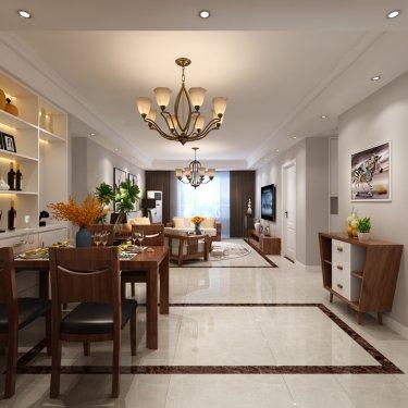 现代轻奢风,彰显主人典雅与时尚-龙湖天宸原著小区125平米3室现代装修案例