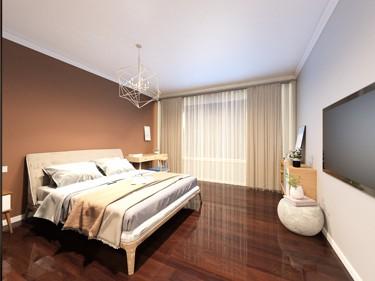 120㎡的北欧风 舒适小清新-正商公主湖小区120平米3室北欧装修案例