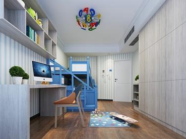 128平个性设计现代风格-雨润中央广场小区128平米2室现代装修案例