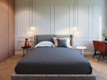 宁静和舒适的居家空间-碧涛园小区121平米3室现代装修案例