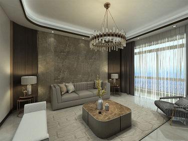 巧妙混搭的轻奢现代设计,每平方都透露出高雅范-正商智慧城小区128平米3室现代装修案例