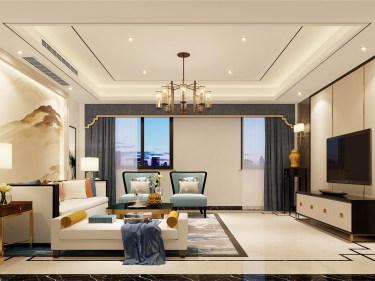 古典风范和现代精神相结合的500平别墅设计