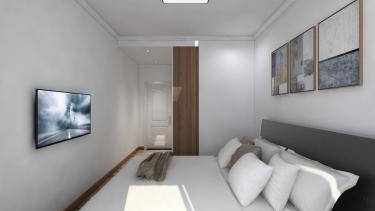 122平4室北欧卧室