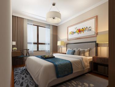 140平4室新中式卧室