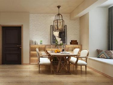 日式轻奢风,给你一个惬意的生活-花径美邻小区202平米3室日式装修案例