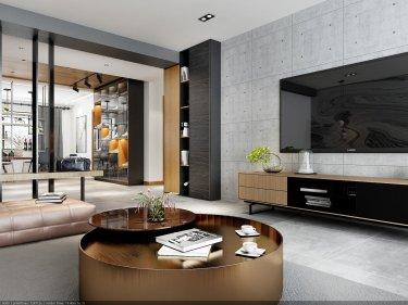 140平现代三居室 保持简洁明亮,将空间完美释放
