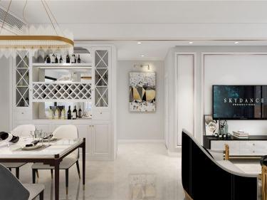 年轻人最爱的轻奢风 118平米现代3居室