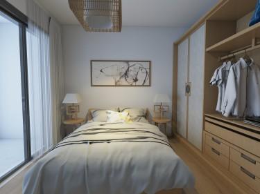 清新自然的日式风格彰显独特品味-吉林大学荔园小区97平米3室日式装修案例