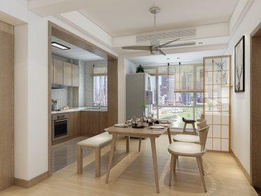 清新自然MUJI风,这就是我爱的日式-乐怡苑小区140平米3室日式装修案例