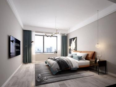 160平4室北欧卧室