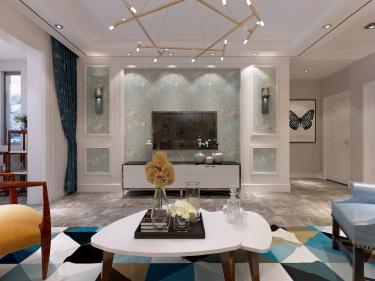 现代简约风 承载所有的美好生活-慧谷兰亭小区127平米2室现代装修案例