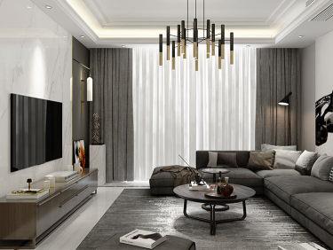 黑白灰如何装出现代时尚的家