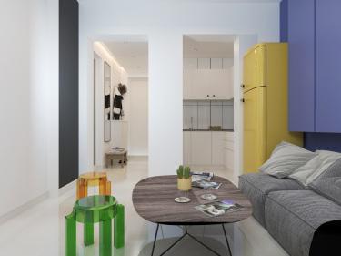55m²的北欧风格,给你带来不一样的居家体验