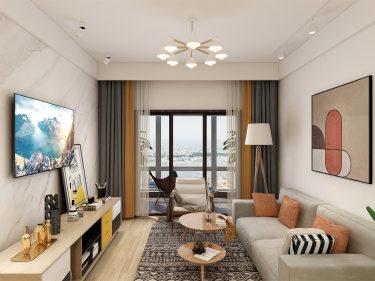 日式清新小三房,原来这般温暖可人-苏胥湾小区90平米3室日式装修案例