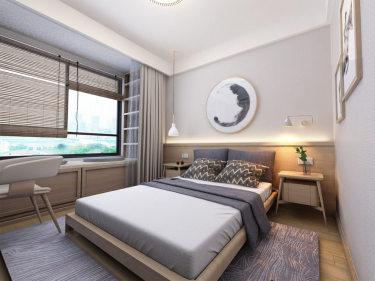 130㎡浅咖色日式混搭风,触手可及的自然韵味-运河一号小区130平米4室日式装修案例