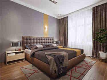 110平现代风,三口之家的幸福本源-宫园中央小区110平米2室现代装修案例