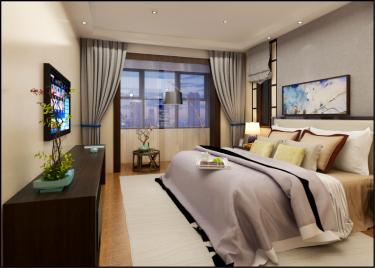 280平5室新中式卧室