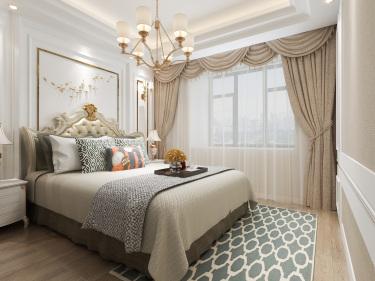 135平4室欧式卧室