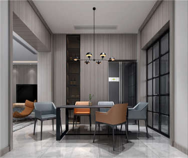 大道至简--160平现代极简主义的雅致美学-紫一川小区160平米别墅现代装修案例