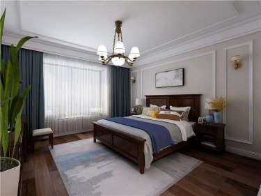 浪漫美式210平大平层,家的回归-紫薇永和坊小区210平米5室美式装修案例