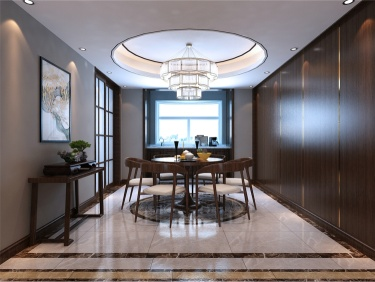 200m²平层住宅新中式