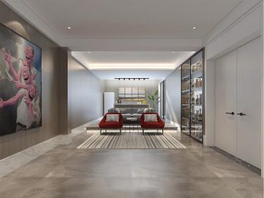 别墅轻奢现代风 享受慢生活-诺丁山小区500平米别墅现代装修案例