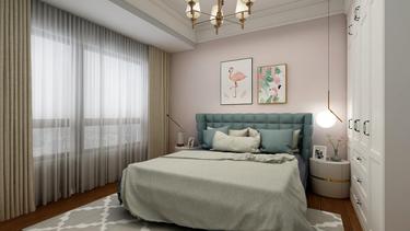 130平4室欧式卧室