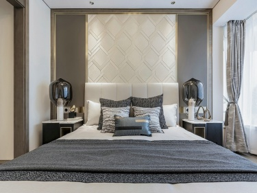 现代轻奢,与自己独处的艺术-江城逸品3期小区60平米1室现代装修案例