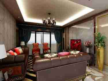 251大户型典雅欧式风-元泰汗府小区251平米4室欧式装修案例