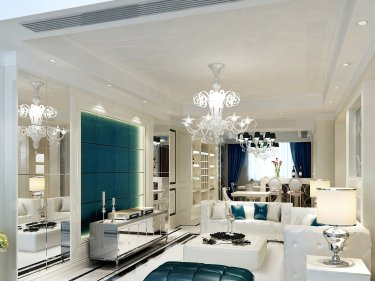 240平现代风格跃层公寓