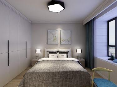 轻奢有度,满目温馨的现代风-中虹华苑小区74平米2室现代装修案例