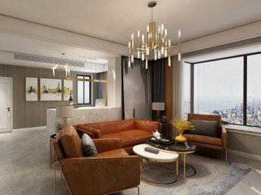 245平米轻奢现代风,干净清爽活泼灵动-龙湖湾小区245平米5室现代装修案例