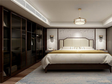 170平米新中式,把东方美带入生活-佳兆业小区170平米4室新中式装修案例