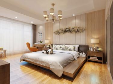 145平简约现代风 享小资之家-逸景倾城小区145平米4室现代装修案例