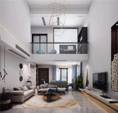 遇见生活之美180平现代风格别墅-金科·云玺台小区180平米别墅现代装修案例