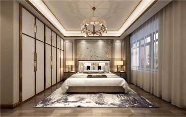 其乐融融 180平四代人的中式家-龙泊湾小区180平米4室中式装修案例