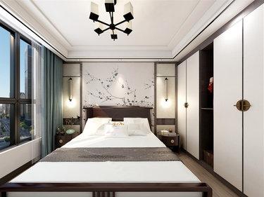 文化之魂,匠心之美-金沙明珠小区110平米3室中式装修案例