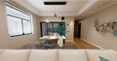 精雕细节 简单舒适的现代风三居室-中心城小区120平米3室现代装修案例