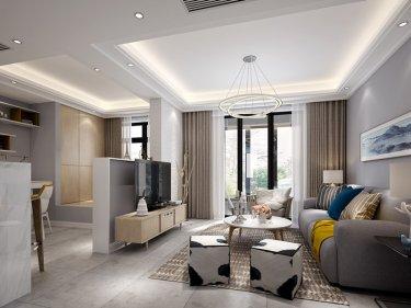 时尚明丽的现代风格——复式公寓可以这样装