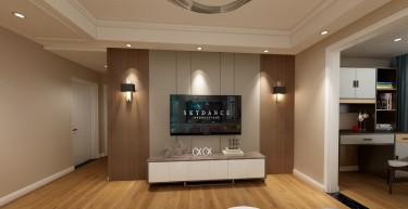 精雕细节 简单舒适的现代风三居室