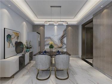 124平温馨舒适现代家居,原来可以这样设计-昆仑望岳小区124平米3室现代装修案例