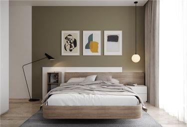 清新舒朗的北欧设计  让家成为喧闹都市的宁静港湾-淞泽家园小区118平米3室北欧装修案例