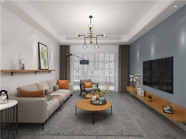 清新舒朗的北欧设计  让家成为喧闹都市的宁静港湾