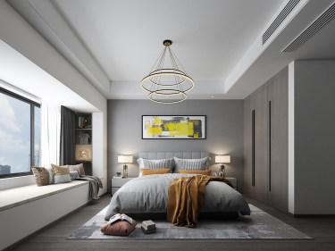 四室极简美学,还原家的定义-姑苏名著小区110平米4室现代装修案例
