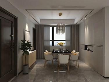 140平纯粹自在的精致现代家居空间