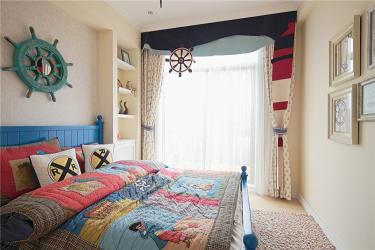 80㎡地中海风 蓝色的梦,温馨的家-双桥小区小区80平米2室地中海装修案例