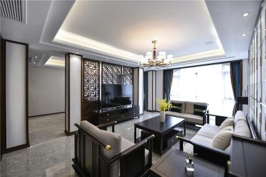 350㎡『轻奢+新中式』新家的设计细节~