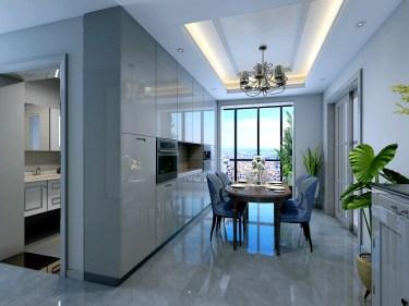 170平4室简美餐厅