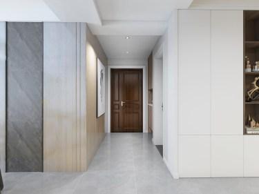 120平3室现代走廊